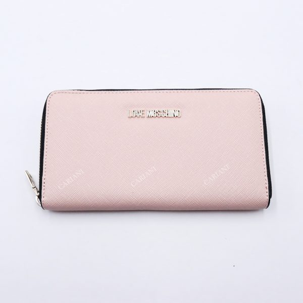wholesale dealer 2fb74 a3a05 LOVE MOSCHINO Portafoglio rosa